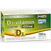 Jutavit D vitamin olive 2500 IU   100 db