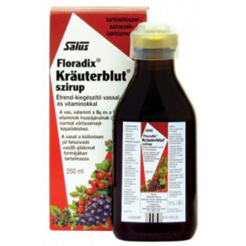 Salus Floradix szirup 250 ml
